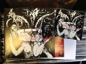 """Image of SLUTVOMIT 'Satanic Slut Metal' 7"""""""