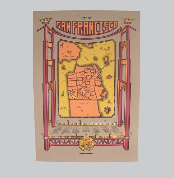 Image of san francisco map