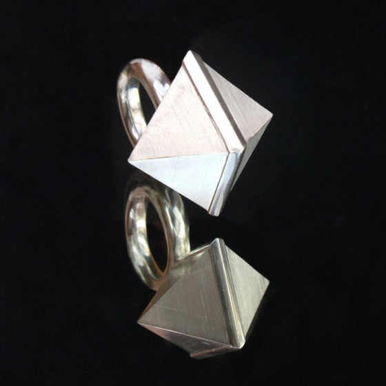 Image of ID Edition: Cuboid Crystal Ring