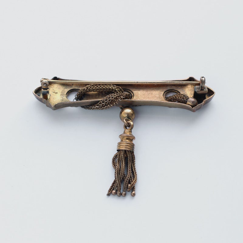Image of Antique Victorian Bar Brooch