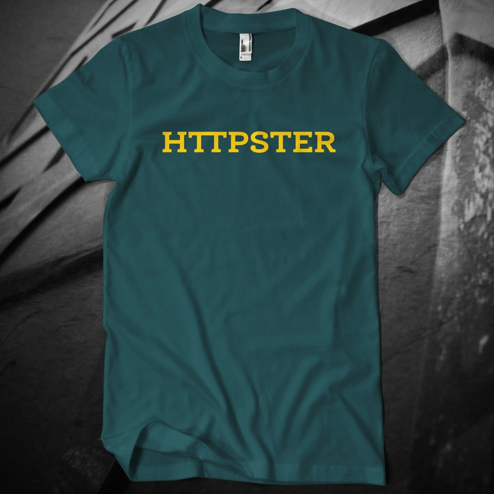 Image of HTTPSTER Tee, Second Edition (Forest)