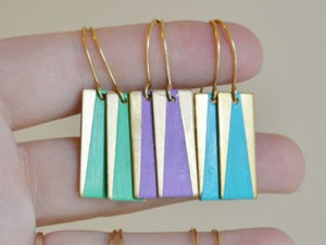 Image of Hand Painted Dangles