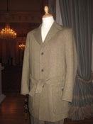 "Image of The ""Errol Flynn"" two-piece belt-tie suit"
