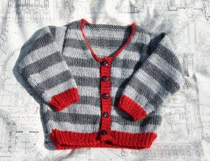 "Image of Patron Cardigan ""Jailhouse Rock"""