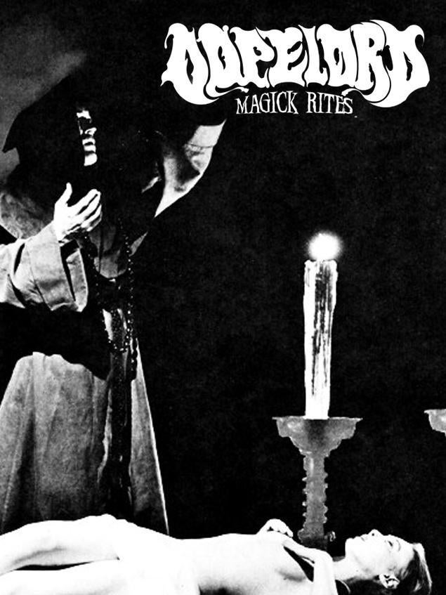 "Image of Dopelord - ""Magick Rites"" (Cassette)"