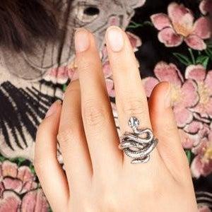 Image of Snake Ring