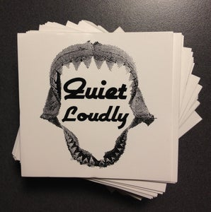 Image of Quiet Loudly Megalodon Vinyl Sticker