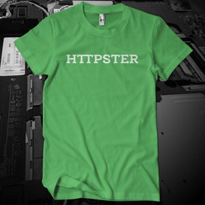 Image of HTTPSTER Tee, Squid Edition (Green)