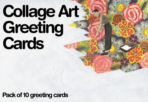 Image of Collage Art Greeting Card Pack