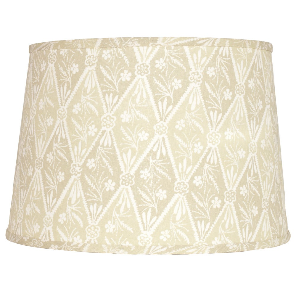 "Image of 16"" Diamond Batik Sage Lampshade"