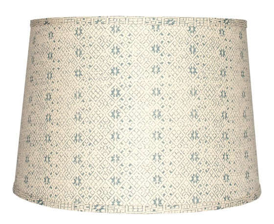 "Image of 18"" Zazu Blue Lampshade"