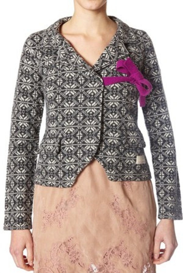 Image of Odd Molly Classic Knit Cardigan - Charcoal
