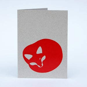 Image of Red Fox card