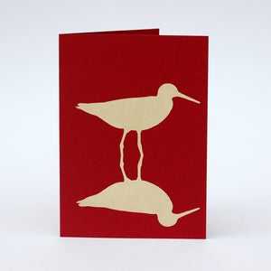 Image of Redshank card
