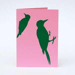 Image of Woodpecker card