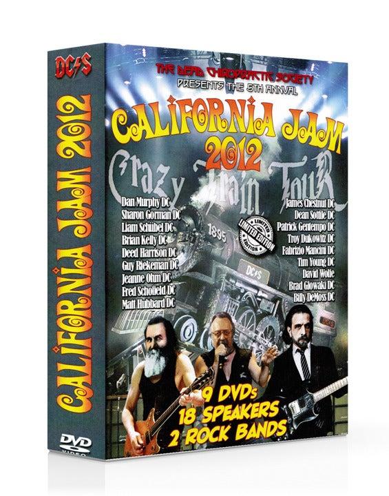 Image of California Jam 2012 DVD Set