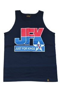 Image of JFK Basketball Tank (Navy)