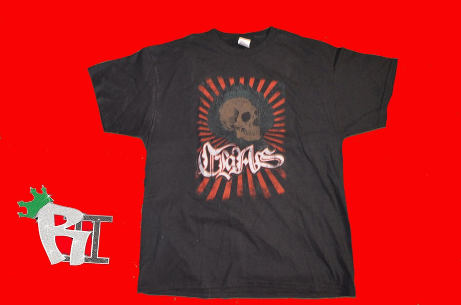 Image of ClaAs - Skull T-shirt