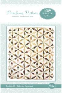 Image of PDF VERSION - Farmhouse Parlour Quilt Pattern