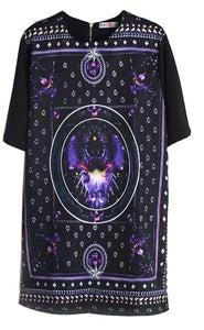 Image of 'TISCI LONG PRINT' DRESS