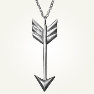 Image of Arrow Necklace, Sterling Silver