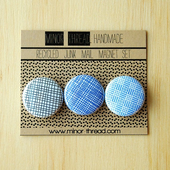 Image of Recycled Junk Mail Magnets 6 Sets - Wholesale Package