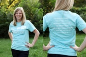 Image of Sky Blue Adult Tee