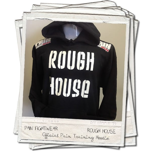 Image of OFFICIAL TEAM ROUGHHOUSE 'DISCIPLE' HOODIE
