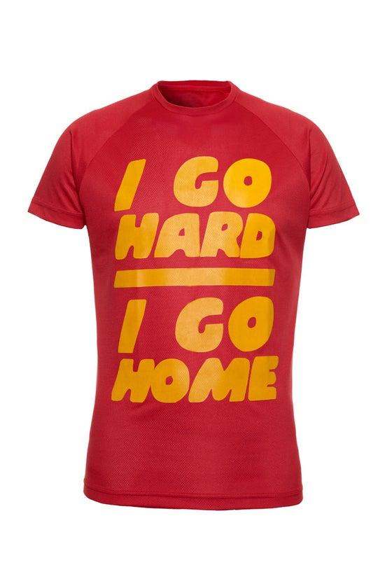 Image of I Go Hard/I Go Home - Red