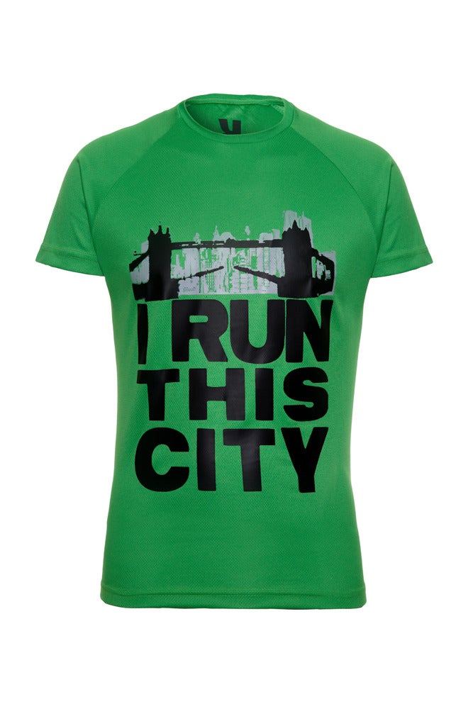 Image of I Run This City (London) - Green