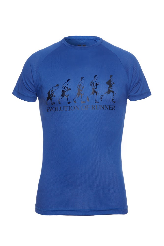 Image of Evolution of Runner - Royal Blue