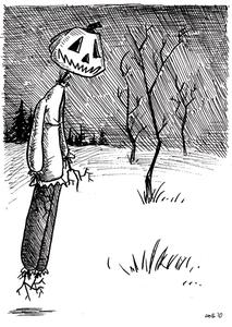 Image of Original Character Sketch