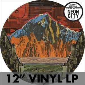 """Image of Johnny Bertram & The Golden Bicycles - 'Neon City' 12"""" Vinyl LP"""