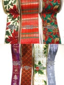"Image of Group17 & 18 Premium Wired Holiday Ribbon 1 1/2""-3 5/8"" w ""By the Yard"""