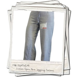 Image of PAINFIGHTWEAR LADIES JOGGERS GREY