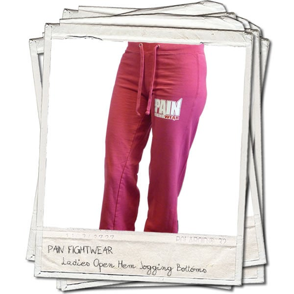 Image of PAINFIGHTWEAR LADIES JOGGERS PINK