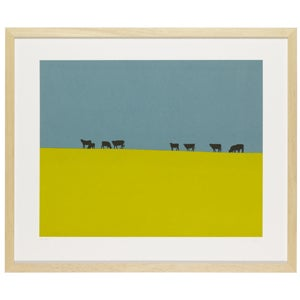 Image of Cows on a Hill (afternoon)