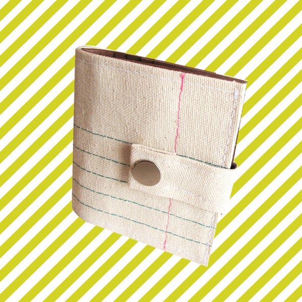 Image of Recycled ) Bifold Wallet With Snap (Plus Zipper)