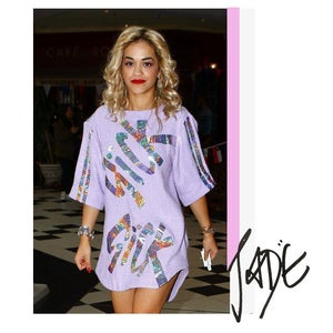 Image of SICK TOP- Worn by the lovely Rita Ora.