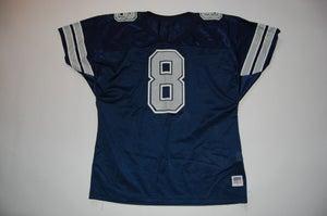 Image of Vintage Troy Aikman Jersey Blue