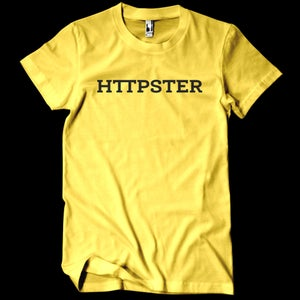 Image of HTTPSTER Tee, Bumblebee Edition (Yellow)