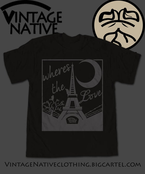 Image of Midnight In Paris Tee Black