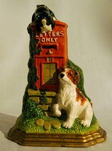 Image of Dog and Cat door stop