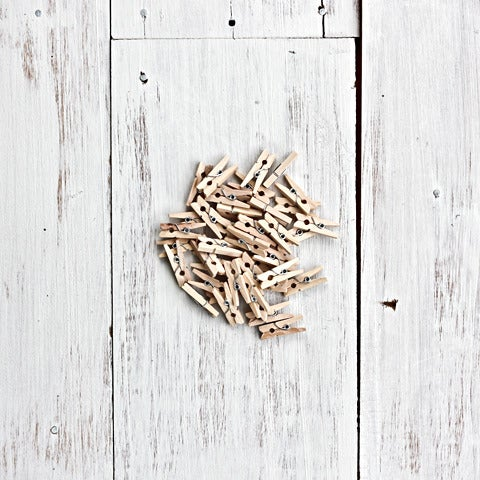 Image of Tiny Wooden Pegs