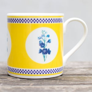 Image of Yellow Delphinium Mug