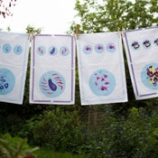 Tea Towels, set of four assorted designs £12 each or set of four for