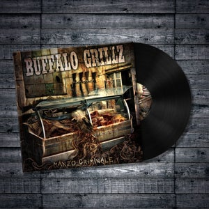 Image of Buffalo Grillz - Manzo Criminale LP - Black