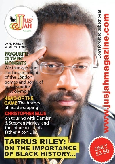 Image of Jus Jah Magazine Issue 4 (September-October 2012)