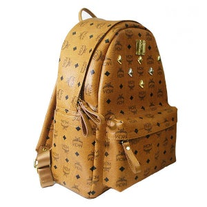 Image of MCM Backpack Stark Visetos Medium