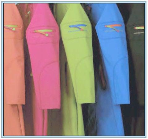 Image of Ilse Jacobsen Full Length Raincoat (Black/Colors)